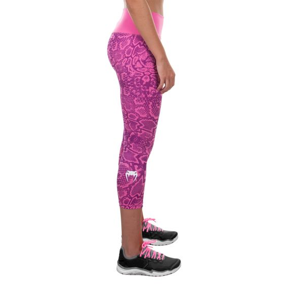 Venum Fusion Cropped Leggings - Pink