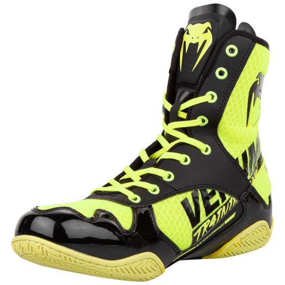 Боксерки Venum Elite VTC 2 Edition - Neo Yellow/Black