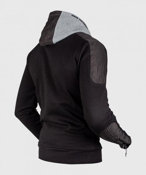 Толстовка Venum Laser Evo - Черный/Болотно-серый