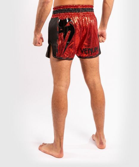 Venum Giant Foil Muay Thai Shorts - Red/Black
