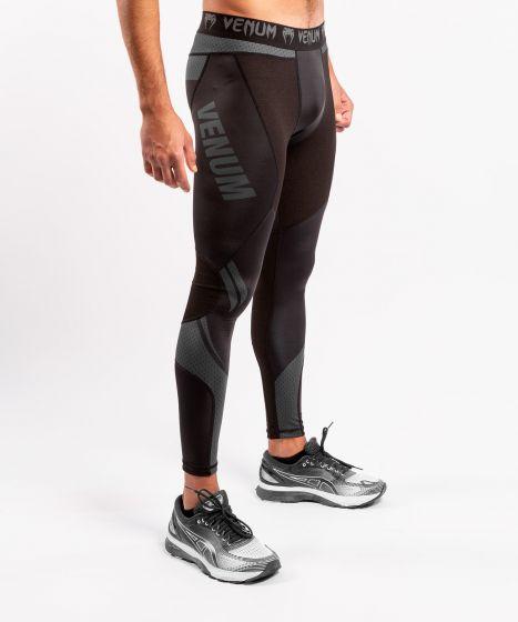 Компрессионные штаны ONE FC Impact  - Черный/Черный