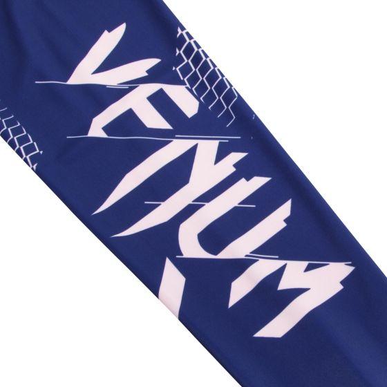 Venum Rapid Cropped Leggings - Navy Blue/Coral