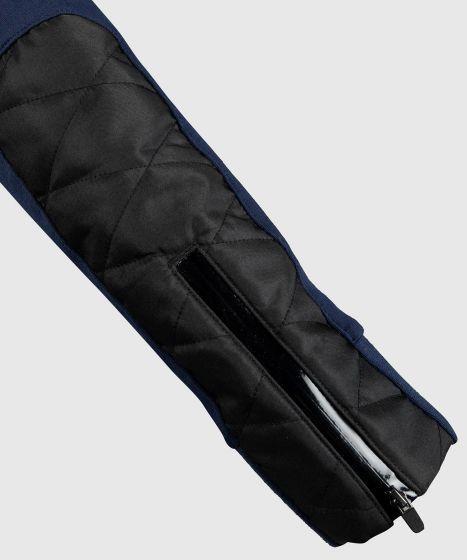 Толстовка Venum Laser Evo  - Темно-синий/Серебристый