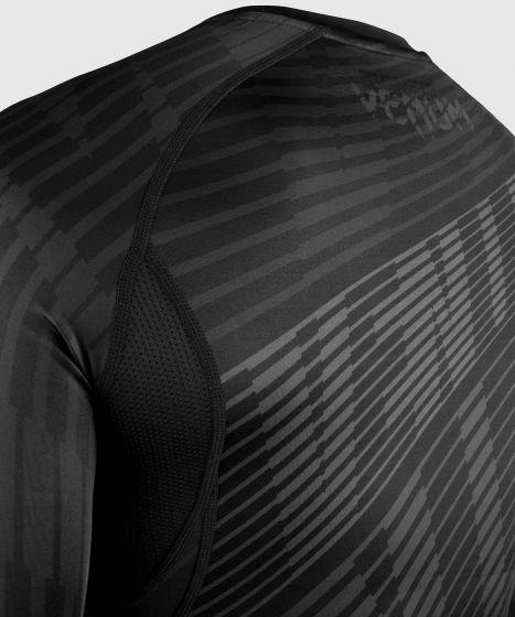 Venum Plasma Rashguard - Long Sleeves - Black/Black