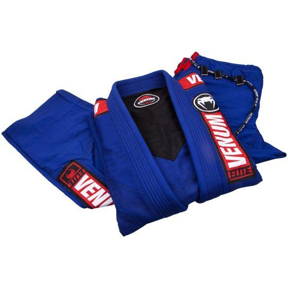 Venum Elite 2.0 BJJ Gi - (Bag Included) - Blue - A4