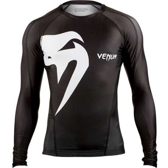 Venum Giant Rashguard - Long Sleeves - Black