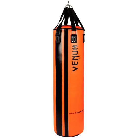 Venum Hurricane Punching Bag - Filled - 150 cm - Black/Orange