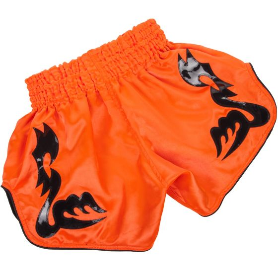 Venum Bangkok Inferno Muay Thai Shorts - Neo Orange/Black