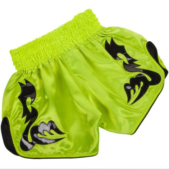 Venum Bangkok Inferno Muay Thai Shorts - Neo Yellow