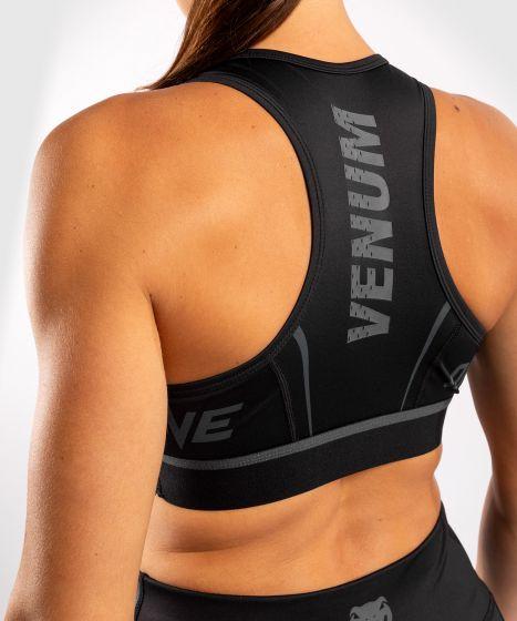 Venum ONE FC Impact Sport Bra - Black/Black