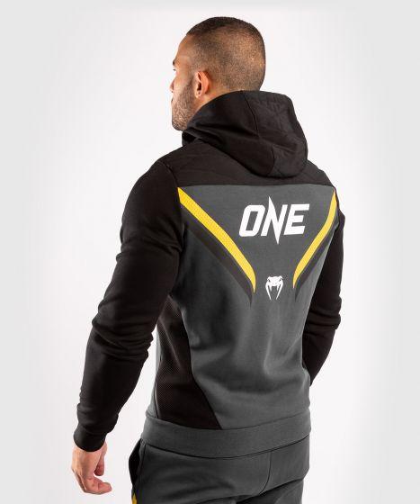 Толстовка ONE FC Impact  - Серый/Желтый
