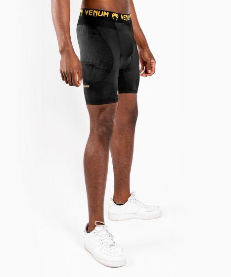 Компрессионные шорты Venum G-Fit - Черный/Золотой