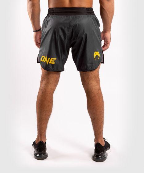 ММА шорты ONE FC  - Серый/Желтый