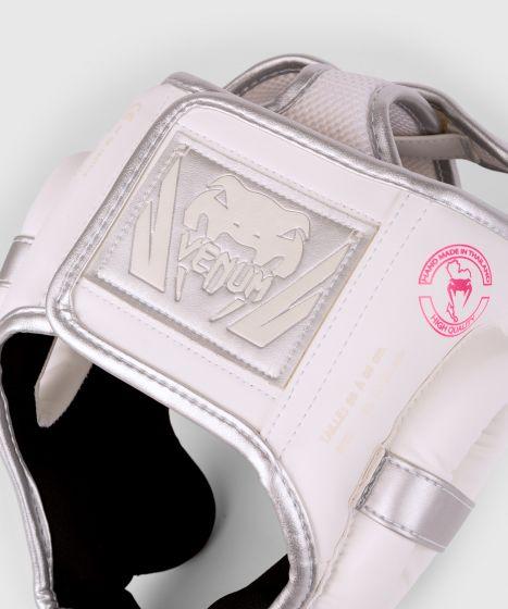 ШЛЕМ VENUM ELITE HEADGEAR - Белый/серебристо-розовый
