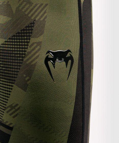Компрессионные штаны Venum Trooper - Лесной камуфляж/ Черный