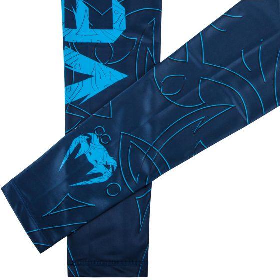 Venum Nightcrawler Compression Tights - Navy Blue