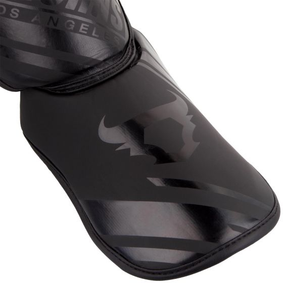 Ringhorns Nitro Shin Guards Insteps - Black/Black