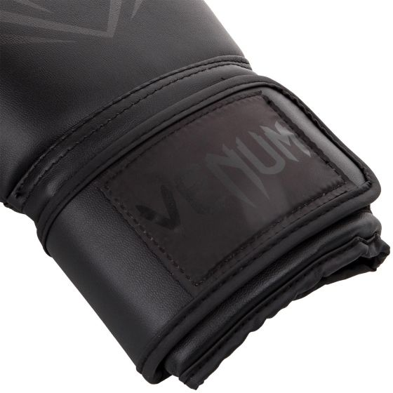 Venum Contender Boxing Gloves - Black/Black