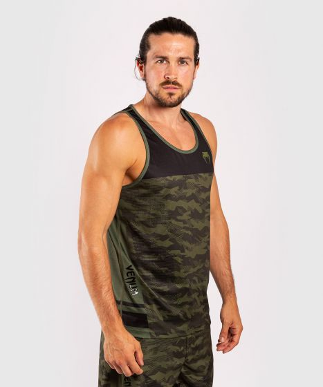 Venum Trooper Tank Top - Forest Camo/Black