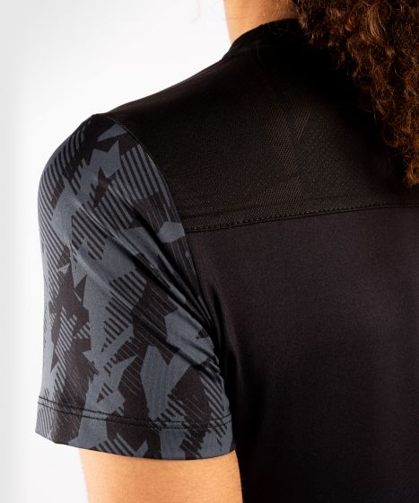 UFC Venum Authentic Fight Week Women's Performance Short Sleeve T-shirt - Black