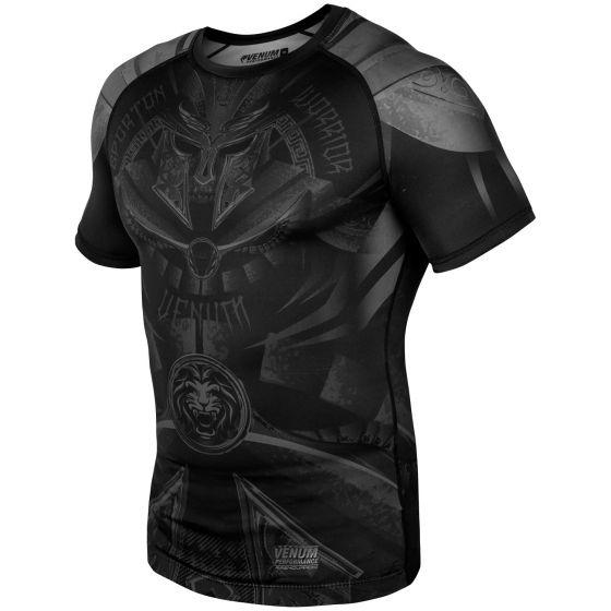 Venum Gladiator 3.0 Rashguard - Short Sleeves - Black/Black