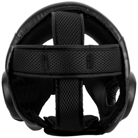 베넘 챌린저 오픈 페이스 헤드기어 - 블랙/블랙