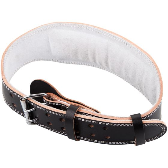 Venum Hyperlift Leather Weightifting Belt - Black