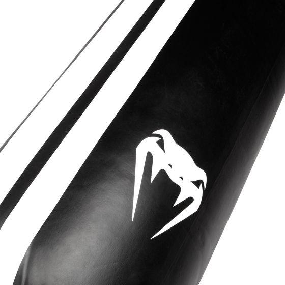 БОКСЕРСКИЙ МЕШОК VENUM HURRICANE - ЧЕРНЫЙ/БЕЛЫЙ – ОБНОВЛЕННЫЙ ПОЛИУРЕТАН – БЕЗ НАПОЛНИТЕЛЯ – 170 СМ