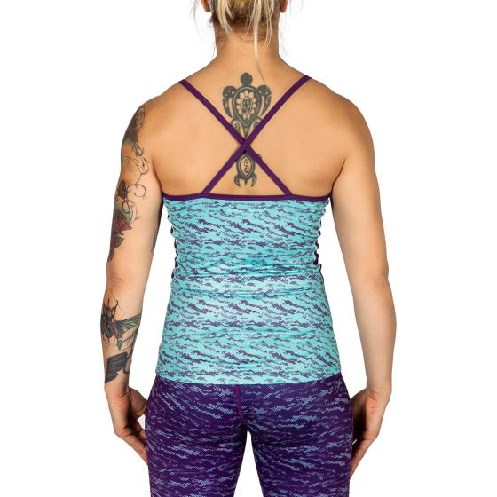 Venum Camoline Tank Top - Light Latigo Bay/Dark Purple