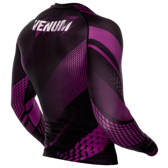 Venum Rapid Rashguard - Long Sleeves - Black/Purple