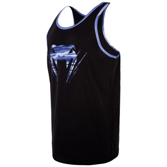 Venum Wave Camo Tank Top - Black/Blue