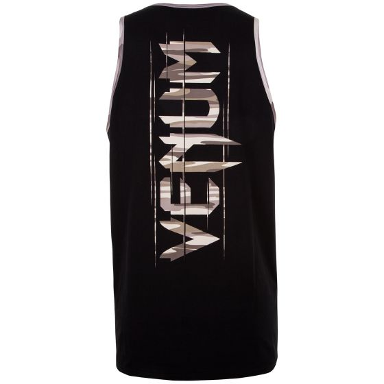 Venum Wave Camo Tank Top - Black/Brown