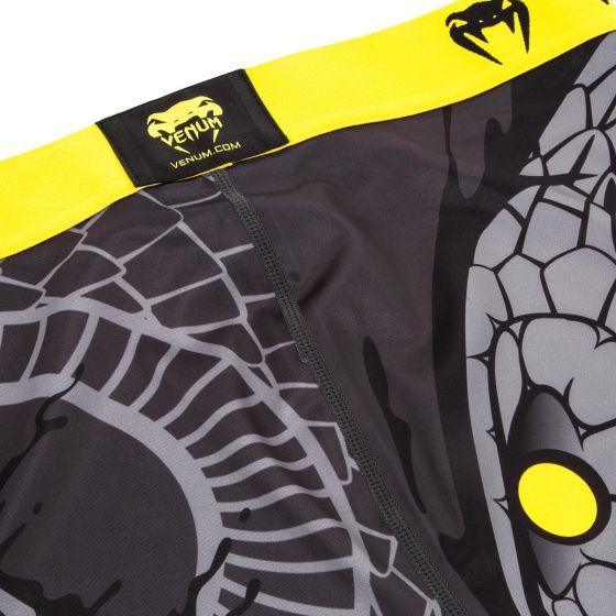 Venum Snaker Spats - Black/Yellow