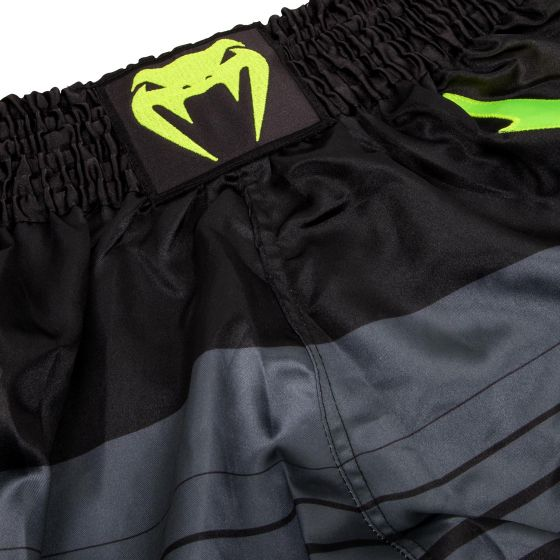 Venum Sharp 3.0 Muay Thai Shorts - Black/Neo Yellow