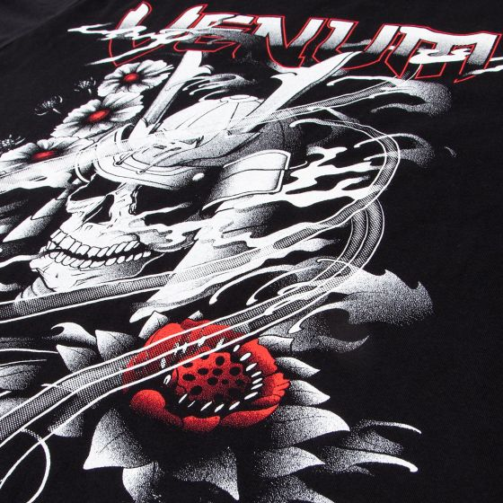 Venum Samurai Skull T-shirt - Black