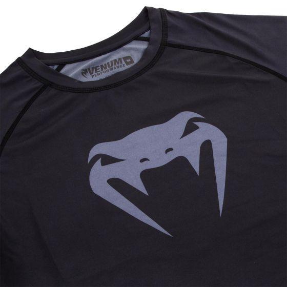 Venum Contender 3.0 Compression T-shirt - Long Sleeves - Black/Grey