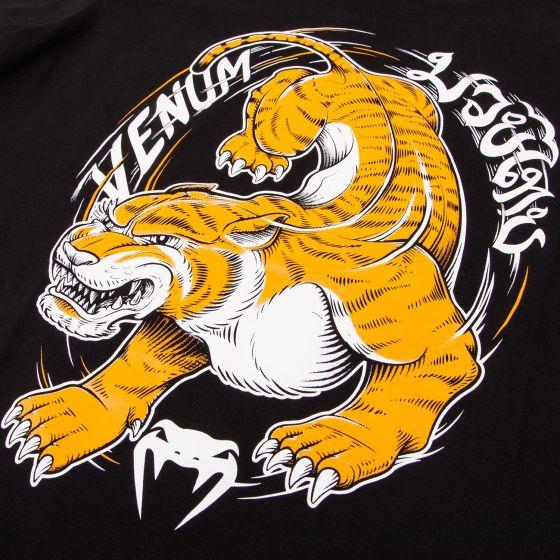 Camiseta Venum Tiger Niños - Negro