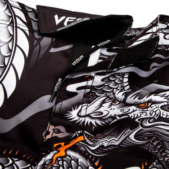 Venum Dragon's Flight Fightshorts - Black/White