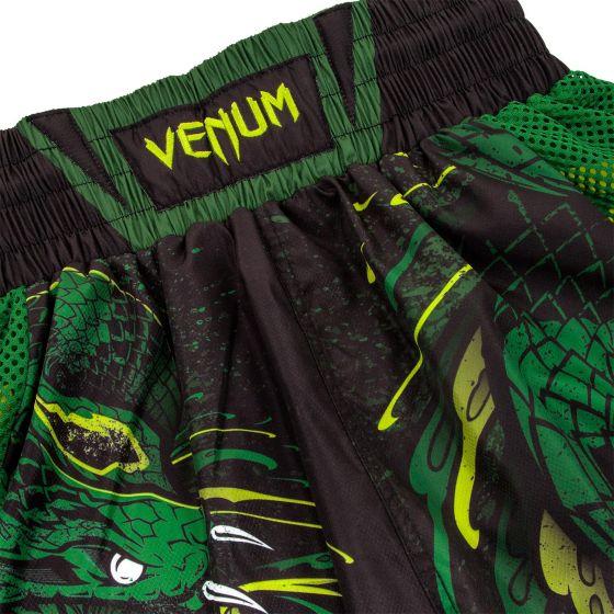 Venum Green Viper Boxing Shorts - Black/Green