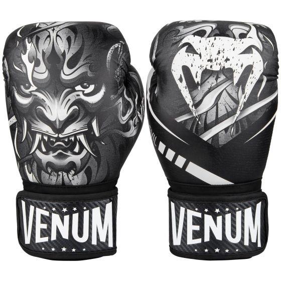 Боксерские перчатки Venum Devil - Белый/Черный