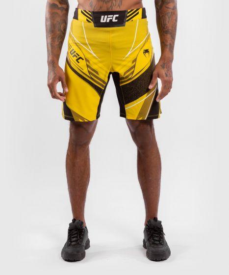 UFC Venum Authentic Fight Night Men's Shorts - Long Fit - Yellow