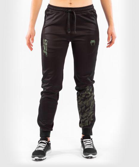 UFC 베넘 어쎈틱 파이트 위크 여성 팬츠 - 카키색 옷감