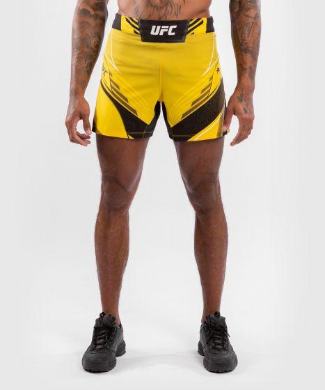 UFC Venum Authentic Fight Night Men's Shorts - Short Fit - Yellow