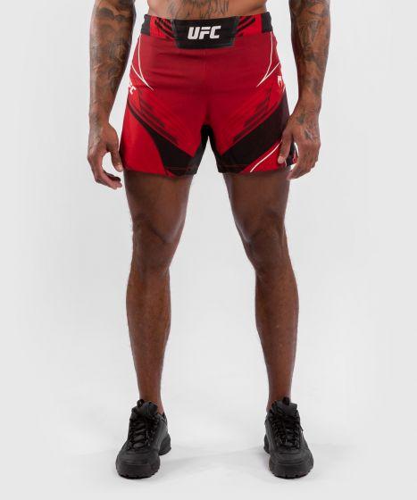 UFC Venum Authentic Fight Night Men's Shorts - Short Fit - Red