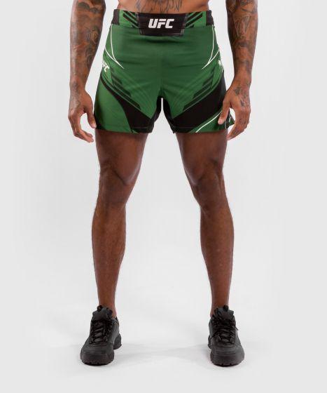 UFC 베넘 어쎈틱 파이트 나이트 남성 쇼츠 - 숏 핏 - 초록