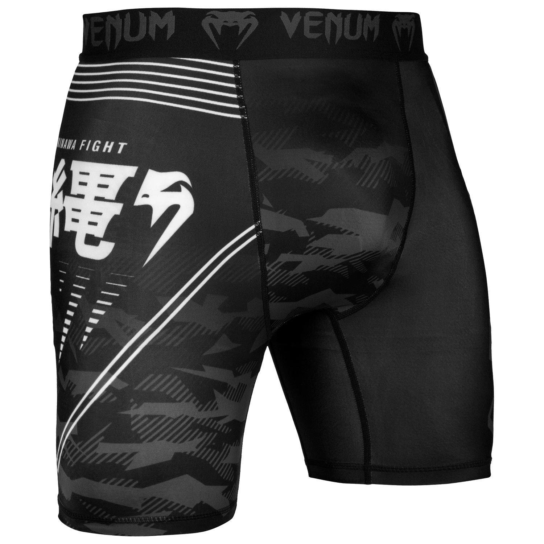 Компрессионные шорты Venum Okinawa 2.0 - Черный/Белый