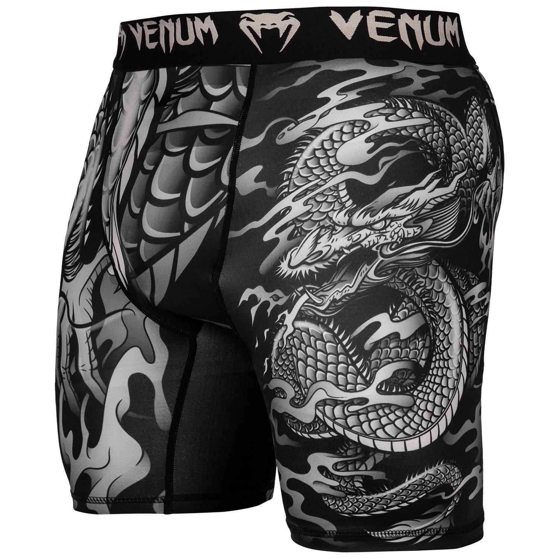 Компрессионные шорты Venum Dragon's Flight - Черный/Песочный