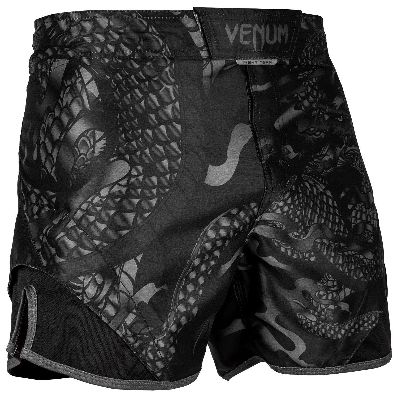 Venum Dragon's Flight Fightshorts - Black/Black