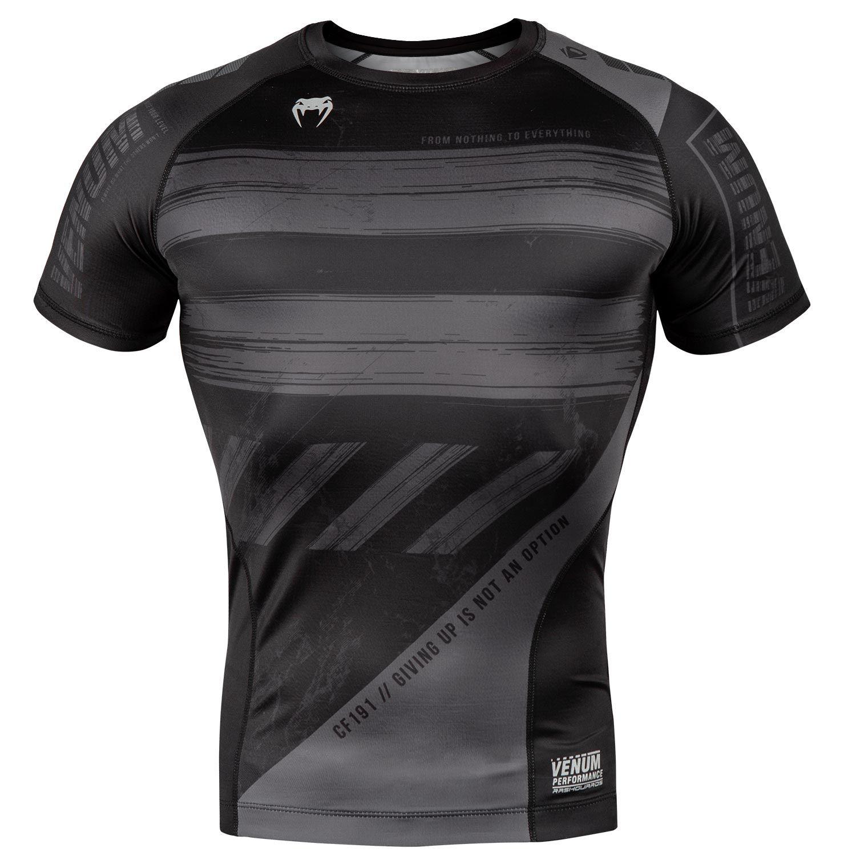Компрессионная футболка Venum AMRAP – Короткий рукав - Черный/Серый